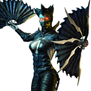 Dark Empress Kitana Mobile Render
