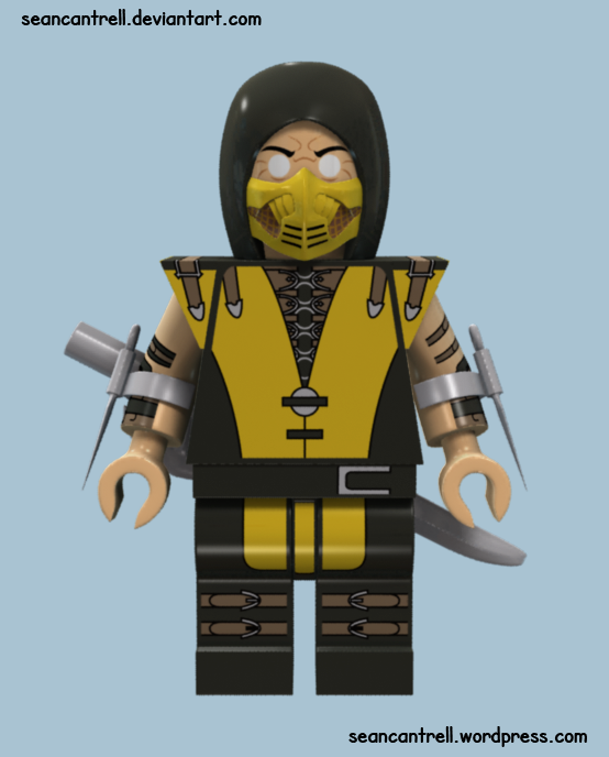 Image - Lego scorpion ...