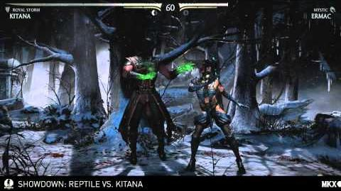 MKX Kombat Kast - Showdown Kitana vs