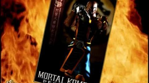 -HQ- Mortal Kombat- Deception - Darrius Trading Card