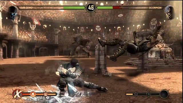 File:Sub-Zero VS Scorpion Story Mode 2.png