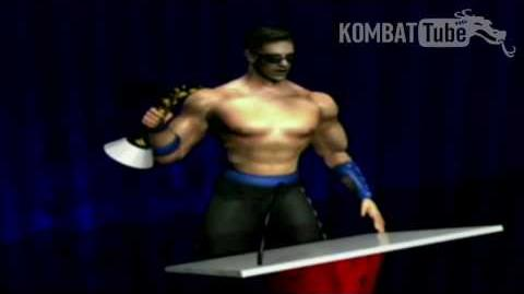 MK4 Gold Ending JOHNNY CAGE
