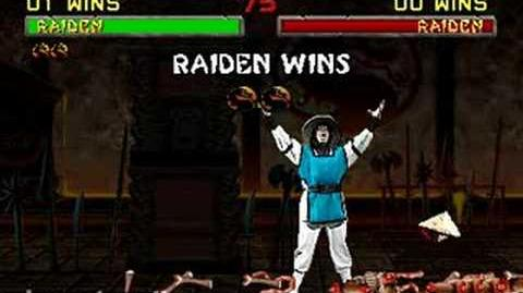 Mortal Kombat II - Fatality 1 - Raiden
