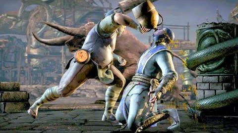 """Mortal Kombat XL Bo' Rai Cho """"Booze You Lose"""" Fatality"""