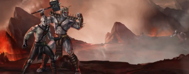 File:Quan Chi with undead Shao Kahn.png