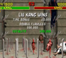 Stage Fatality