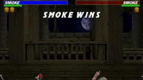 Mortal Kombat Trilogy - Fatality 1 - Human Smoke