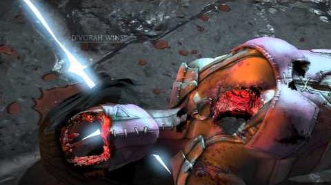 MKX DVorah Heart Broken Fatality