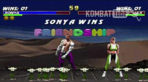 MK III Sonya Friendship