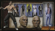 MK9 Artbook - Johnny Cage