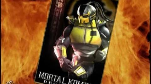-HQ- Mortal Kombat- Deception - Cyrax Trading Card