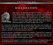 Mka khameleon bio