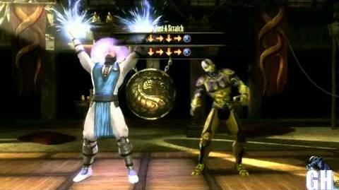 Mortal Kombat 9 Raiden First Fatality
