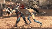 !!!Kitana VS Kung Lao MK9