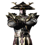 Dark Raiden Mobile Render