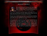 Mka nightwolf bio