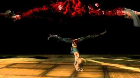 Mortal Kombat 9 (2011) Sonya Blade 1st Fatality HD