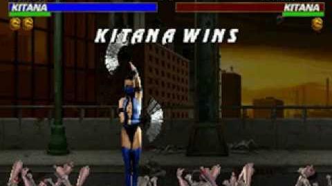 Mortal Kombat Trilogy - Brutality - Kitana