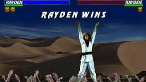 Mortal Kombat Trilogy - Brutality - Raiden (MK1)