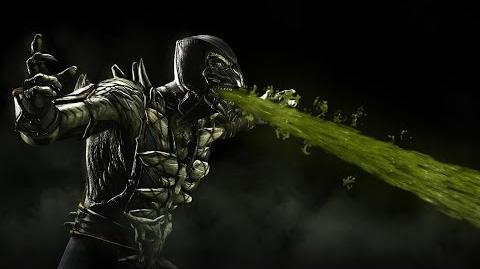 Mortal Kombat X - Reptile Reveal Trailer