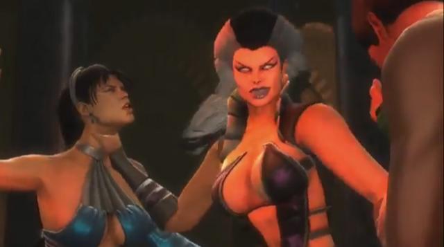 File:Sindel vs Kitana and Jade.PNG