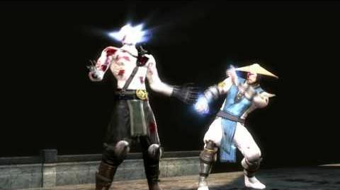 Mortal Kombat 9 - Raiden Fatality