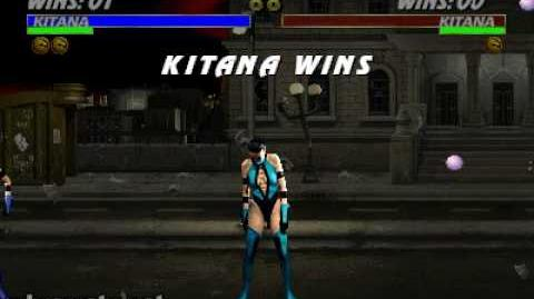 Ultimate Mortal Kombat 3 - Friendship - Kitana