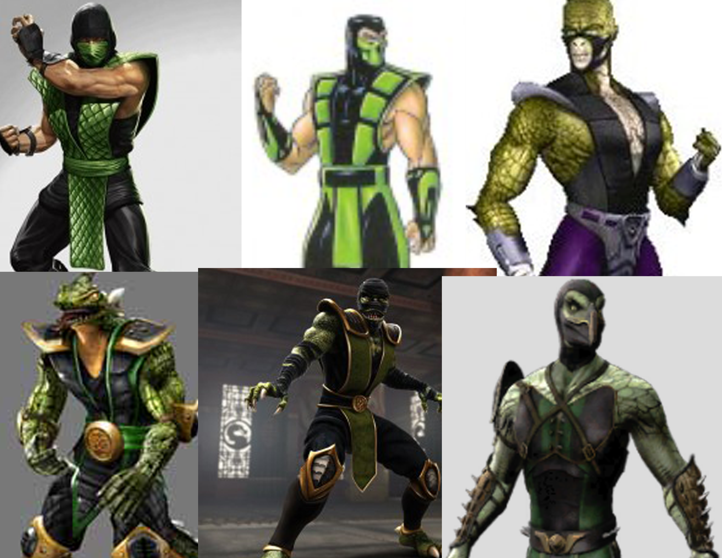 mortal kombat 9 reptile costumes  RONIERONGGO