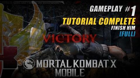 Mortal Kombat X Mobile Gameplay 1 » Mortal Kombat X Tutorial Complete