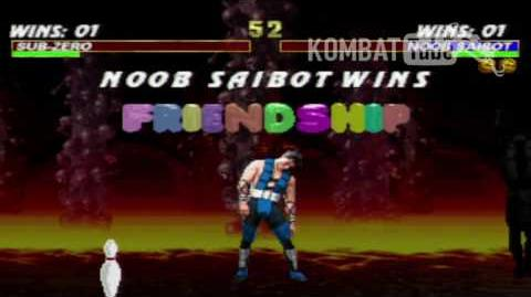 MK III Noob Saibot Friendship