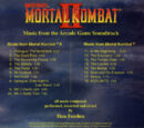 Mortal Kombat II: Music from the Arcade Game Soundtrack