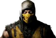 Mortal kombat x render 1 by rajivcr7-d7kyhan Scorpion
