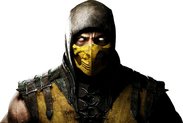 File:Mortal kombat x render 1 by rajivcr7-d7kyhan Scorpion.png