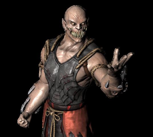 File:Mortal kombat x baraka pose vs mk2 by corporacion08-d93ny9d.png