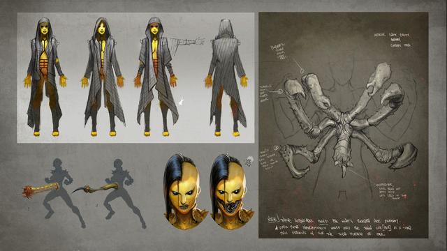 File:MKX D'vorah Concept Art 5.png