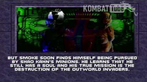 MK III Ending SMOKE BOT