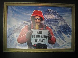 Duke Nukem Mt. Everest Painting