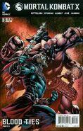 Mortal Kombat X Issue 3 Print Cover