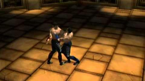 Mortal Kombat Gold - Dreamcast - Johnny Cage - Fatality 1