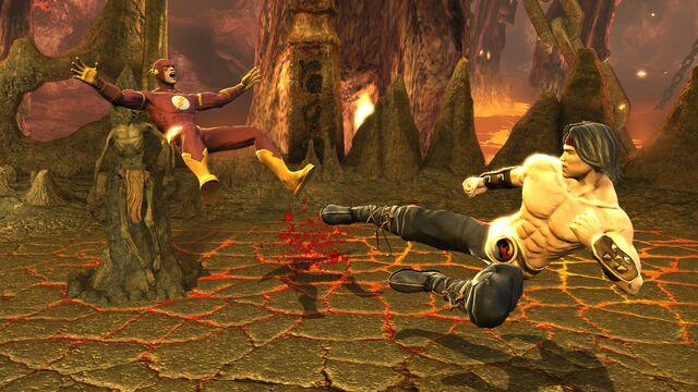 File:Mortal kombat vs dc universe Liu Kang.jpg