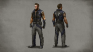 MKX Johnny Cage Concept Art 7