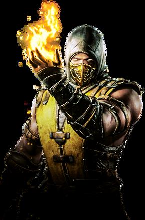 Scorpion MKX Render