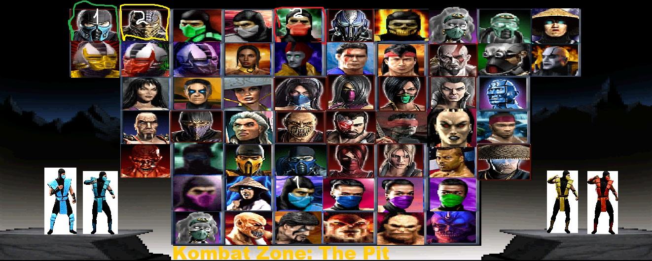 Image  Mortal Kombat 9 Mugen All Characters 2jpg  Mortal Kombat