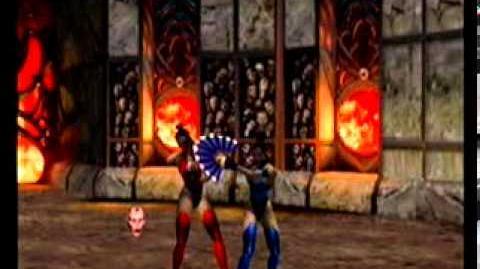 Mortal Kombat Gold - Kitana Fatality 2