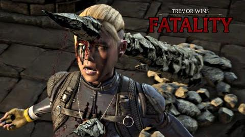 "MORTAL KOMBAT X · Tremor ""Stalag-Might"" Fatality HD MKX"
