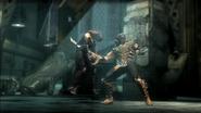 Injustice Scorpion and Batgirl