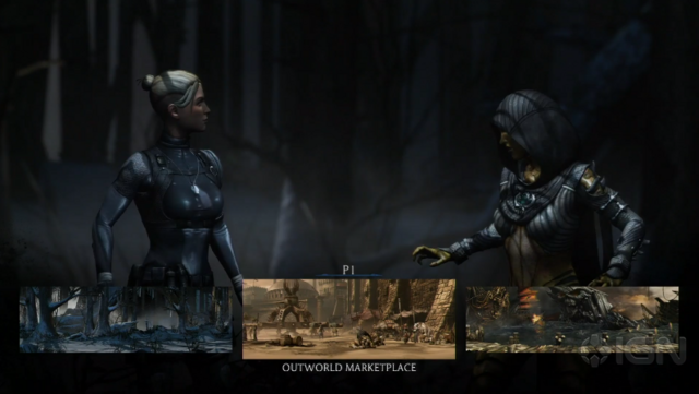 File:D'Vorah and Cassie Cage - Environment Selection.png