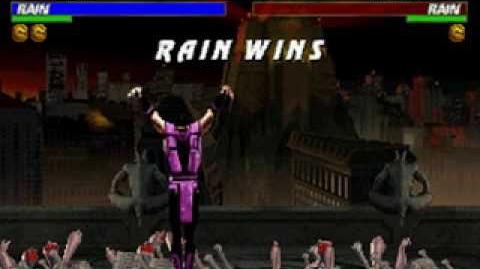 Mortal Kombat Trilogy - Brutality - Rain