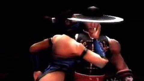 Mortal Kombat Shaolin Monks Kitana's Fatality2