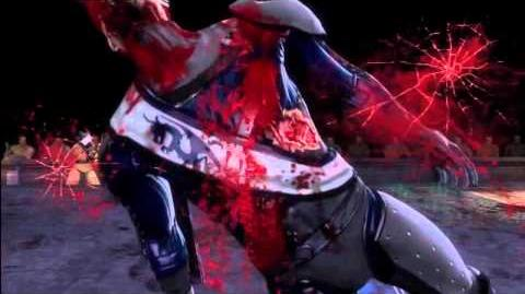 Mortal Kombat 9 Kenshi's 1st Fatality HD